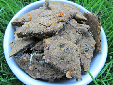 sweet potato spinach dog treat/biscuit recipe