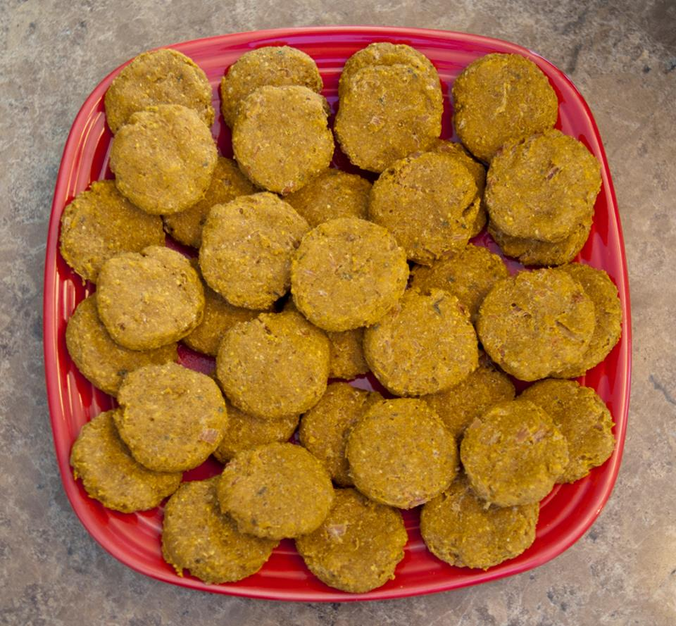 turkey and stuffing dog treat/biscuit recipe