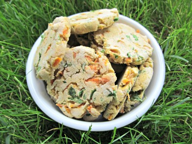 carrot & parsley dog treat/biscuit recipe