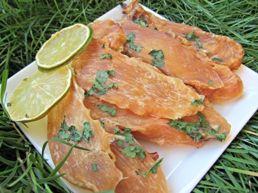 honey lime chicken jerky dog treat recipe