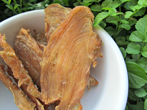 (dairy, wheat, gluten, grain-free) strawberry kale chicken jerky dog treat recipe