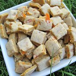 (dairy, wheat and gluten-free, vegan , vegetarian) carrot banana dog treat/biscuit recipe