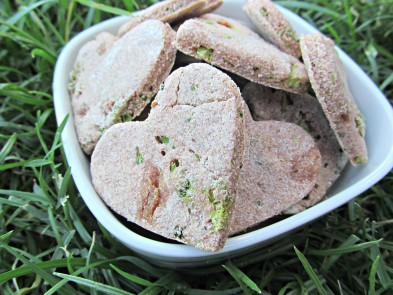 (wheat and dairy-free) broccoli apple dog treat/biscuit recipe