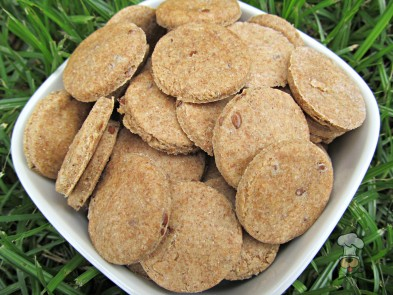 (wheat and dairy-free, vegan, vegetarian) peanut butter flaxseed