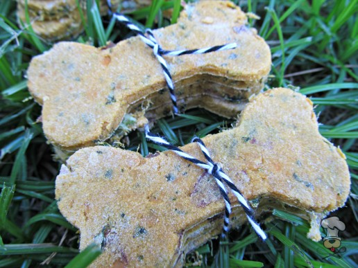 (wheat, gluten and dairy-free, vegan, vegetarian) sweet potato kale dog treat/biscuit recipe