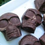 (dairy, wheat, grain and gluten-free, vegan, vegetarian) carob skulls (with peanut butter brains) dog treat recipe