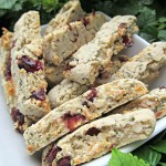 cranberry coconut chicken biscotti