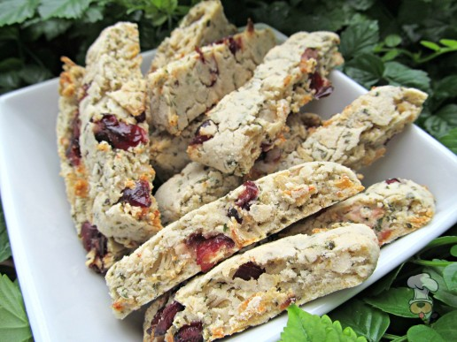 (gluten, wheat and dairy-free)  cranberry coconut chicken biscotti dog treat/biscuit recipe