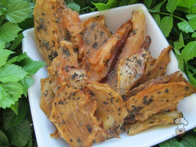 (dairy, wheat, grain and gluten-free) molasses mint chicken jerky dog treat recipe