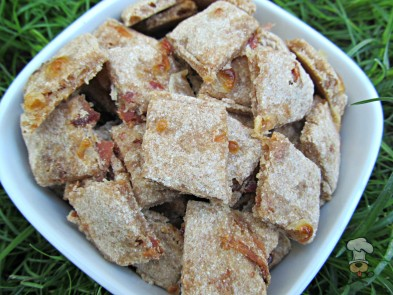 (wheat-free) apple bacon swiss dog treat/biscuit recipe
