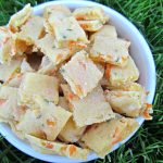 cheese, carrot & parsley