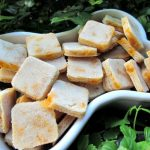 (wheat and gluten-free, vegetarian) apple cheddar ginger dog treat/biscuit recipe