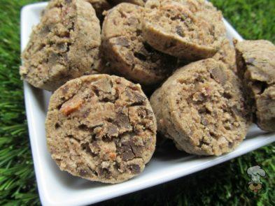 (wheat and gluten-free) bacon chicken liver dog treat/biscuit recipe