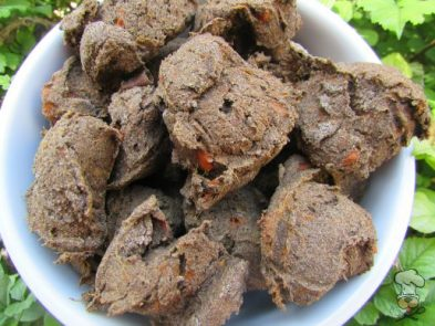 (wheat, gluten, grain and diary-free, vegan, vegetarian) sweet potato carrot molasses dog treat/biscuit recipe