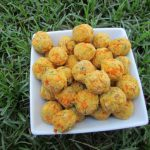 (gluten and wheat-free) bacon, cheese & carrot dog treat/biscuit recipe