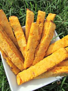 (wheat and gluten-free) sweet potato bacon pineapple biscotti dog treat/biscuit recipe