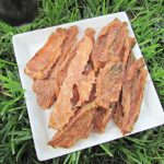(wheat, gluten, grain and dairy-free) mint strawberry tomato jerky dog treat recipe