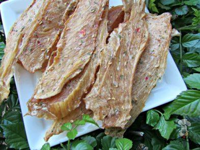 (wheat, gluten, grain and dairy-free) raspberry chicken jerky dog treat recipe
