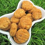 (wheat, gluten and dairy-free, vegan, vegetarian) sweet potato banana dog treat/biscuit recipe