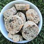 (wheat and gluten-free) cheesy chicken liver dog treat/biscuit recipe(wheat and gluten-free) cheesy chicken liver dog treat/biscuit recipe