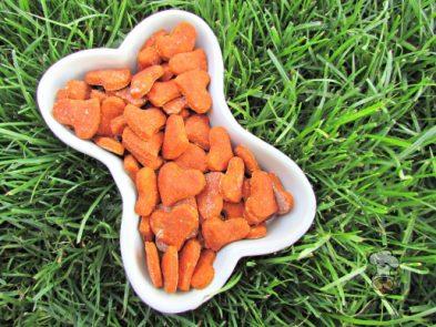 (wheat-free) goat cheese tomato basil dog treat/biscuit recipe