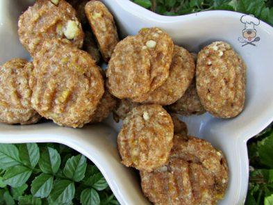 (wheat-free) banana parmesan dog treat/biscuit recipe