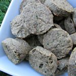 (wheat and dairy-free, vegan, vegetarian) cucumber cantaloupe dog treat/biscuit recipe