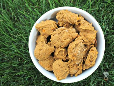 (wheat, gluten, grain and dairy-free) sweet potato pumpkin dog treat/biscuit recipe