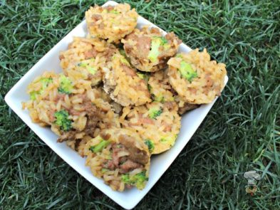 (wheat, gluten, grain and dairy-free) beef and broccoli dog treat recipe