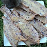 berry basil chicken jerky