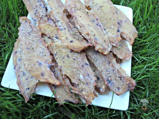 (gluten, grain, wheat and dairy-free) berry basil chicken jerky dog treat recipe