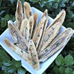 (wheat, gluten, grain and dairy-free, vegan, vegetarian) ginger basil banana jerky dog treat recipe