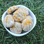 (wheat-free) banana cheddar dog treat/biscuit recipe