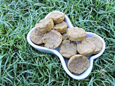 (dairy-free, vegan, vegetarian) apple kale mint dog treat/biscuit recipe