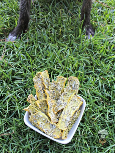 (grain, gluten and wheat-free) parmesan squash chews dog treat recipe