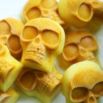 (grain, gluten, wheat and dairy-free, vegan, vegetarian) golden skulls dog treat recipe