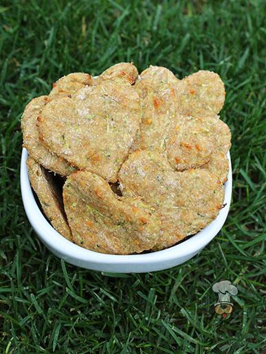 (wheat-free) honey cheesy zucchini dog treat/biscuit recipe