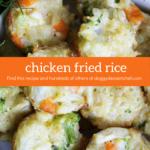 Chicken Fried Rice Dog Treat Recipe