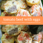 Tomato Beef with Eggs Dog Treat Recipe