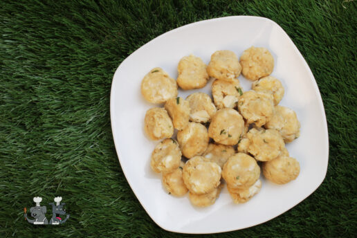 chicken and goat cheese dog treat recipe