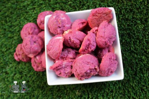 goat cheese beet mint dog treat recipe