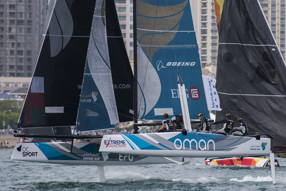 Team Oman Air score win in China