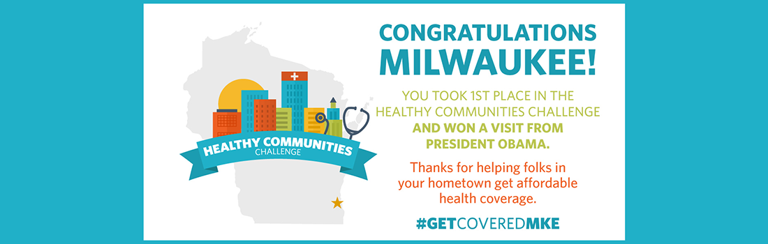 Milwaukee Wins the White House Healthy Communities Challenge
