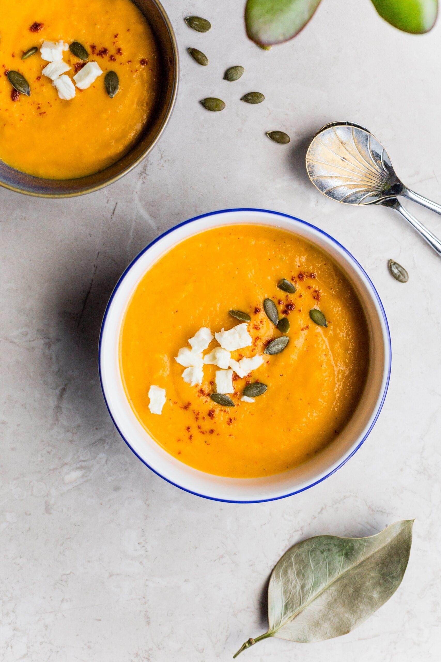 Pumpkin and White Bean Soup