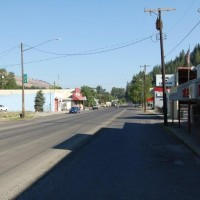 Main Street Stites Idaho