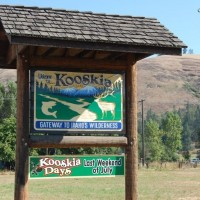 Kooskia Idaho Sign