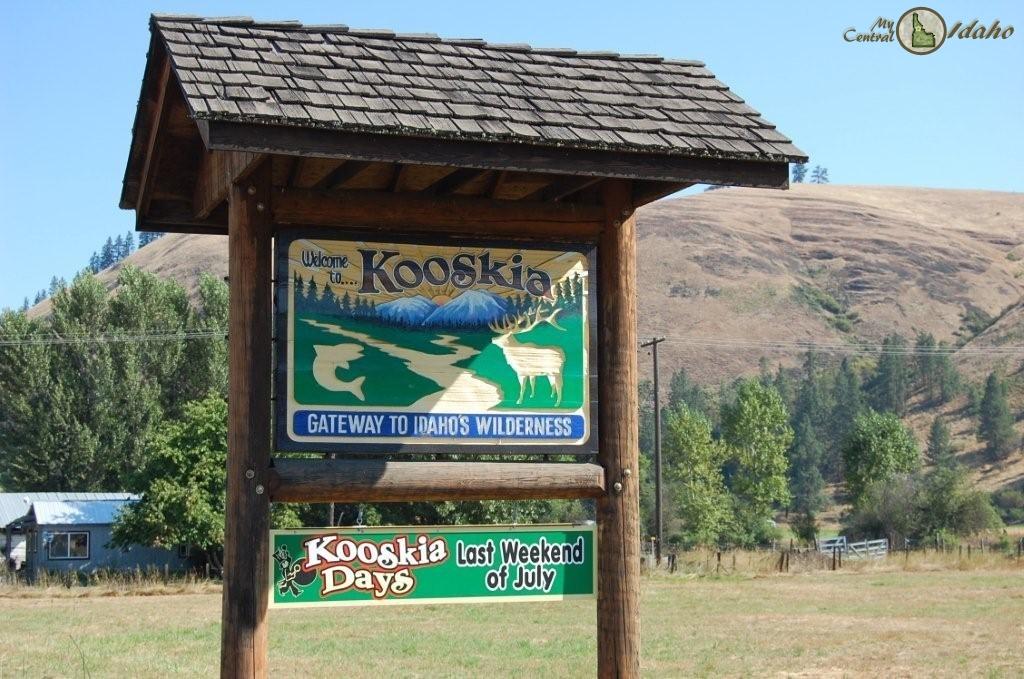 Kooskia Idaho Sign