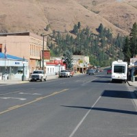 Downtown Kooskia Idaho