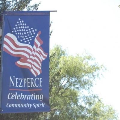 Nezperce Idaho Main Street Banners