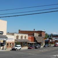 Downtown Grangeville Idaho